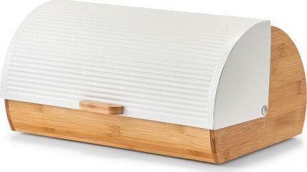 Chlebak Zeller drewniano-stalowy  (25366)