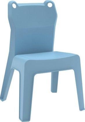 Resol Krzesło dziecięce Jan Frog niebieskie