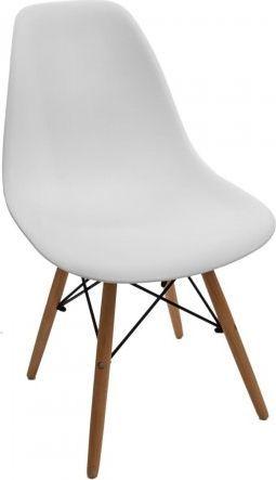 Simplet Krzesło Simplet P016W basic białe
