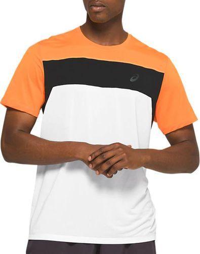 Asics Koszulka męska Race SS Top Tee biała r. S (2011A781-100)