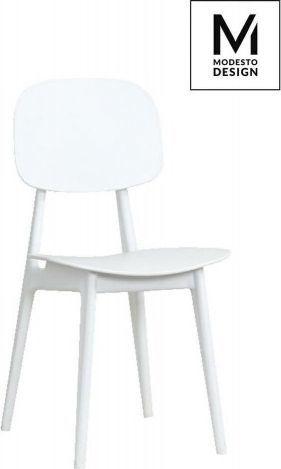 Modesto Design MODESTO krzesło ANDY białe - polipropylen