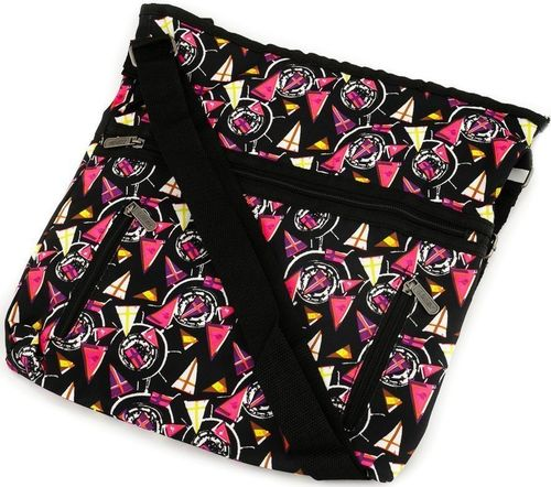 Loren Loren materiałowa torebka listonoszka damska kolory