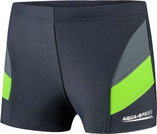 Aqua-Speed Spodenki kąpielowe dla dzieci Andy c.szaro zielone 38 128cm
