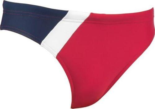 Aqua-Speed Slipy kąpielowe Bartek czerwono granatowo białe 128 cm