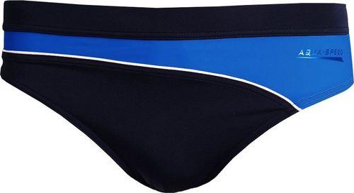 Aqua-Speed Kąpielówki męskie TROY granatowo-niebieski XL
