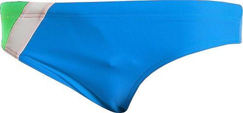 Aqua-Speed Slipy kąpielowe Bartek niebiesko zielono białe 128cm