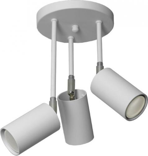 Lampa sufitowa Lampex Rolos 3x40W  (655/3A BIA)