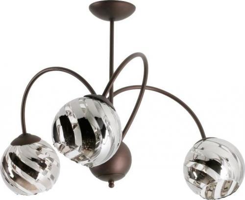 Lampa sufitowa Lampex Adelio 3x60W  (866/3)