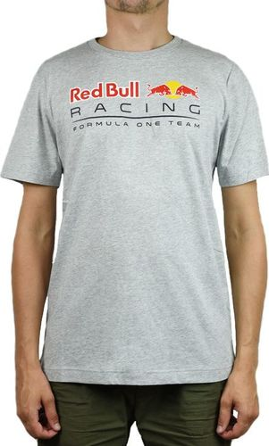 Puma Koszulka męska Red Bull Racing Logo Tee szara r. S (595370-02)