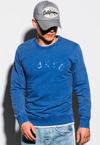 Ombre Bluza męska niebieska r. XXL (B1024)