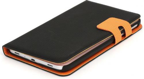 """Etui do tabletu Platinet Samsung Galaxy 3.0 7"""" Czarno-pomarańczowe (41899)"""