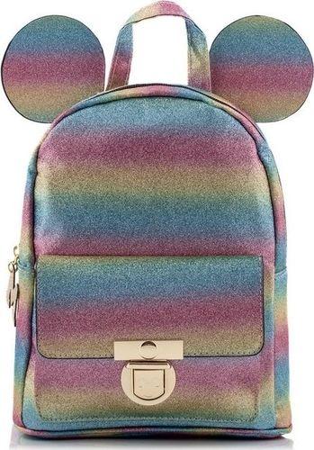 Atmosphere Primark Mały plecak tęczowy Disney Mickey Mouse