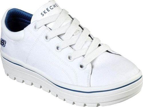 Skechers Buty damskie Street Cleats Bring It Back białe r. 36 (74100-WHT)