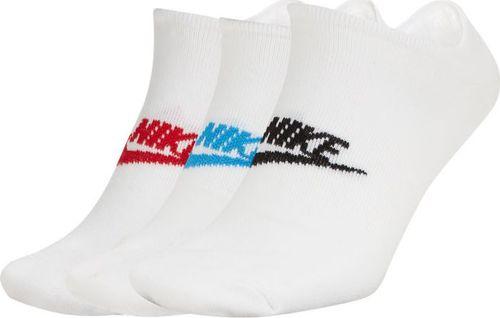 Nikel Nike NSW Essential 3Pak skarpety niskie 911 : Rozmiar - 39 - 42