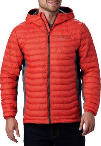 Columbia Kurtka męska Powder Pass Hooded Jacket czerwona r. M (1773271845)