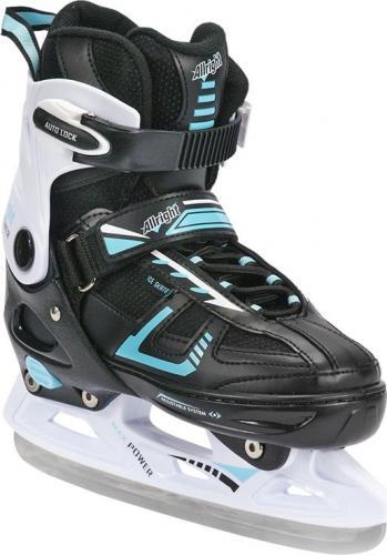Allright Łyżwy hokejowe 2w1 Max Power czarno-białe r. 33-36 (SKŁHMSMP36)