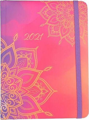 Albi Kalendarz dzienny B6 2021 Mandala ALBI