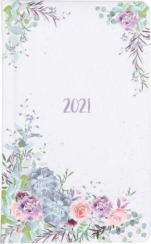Albi Kalendarz kieszonkowy A6 2021 Wianek kwiatów ALBI