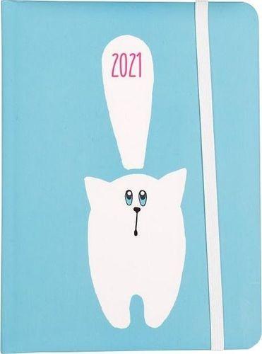 Albi Kalendarz dzienny B6 2021 Kot ALBI