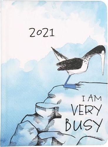 Albi Kalendarz tygodniowy B6 2021 Ptak ALBI