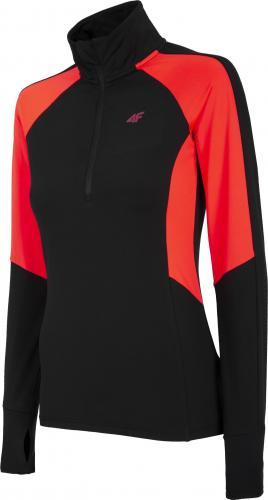 4f Koszulka damska H4Z20-BIDD033 czerwony Neon r. L