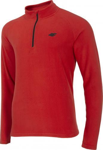 4f Bluza męska H4Z20-BIMP030 czerwona r. L