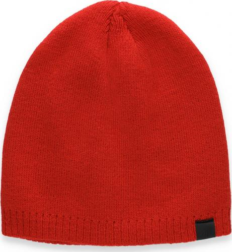 4f Czapka zimowa H4Z20-CAM008 czerwona r. L