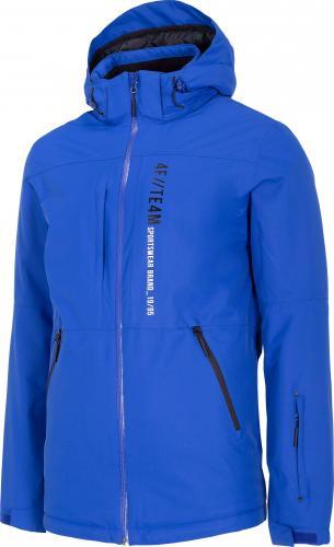 4f Kurtka narciarska męska H4Z20-KUMN003 niebieska r. L