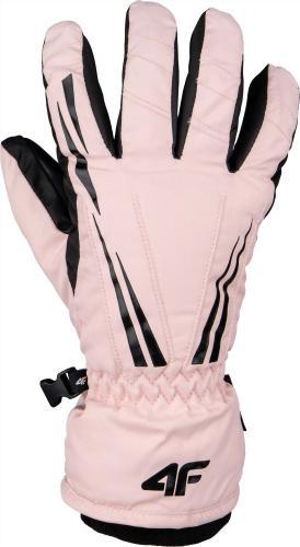 4f Rękawice narciarskie H4Z20-RED005 różowe r. S