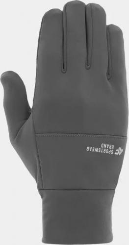 4f Rękawiczki sportowe H4Z20-REU068 szare r. L