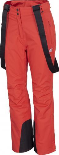 4f Spodnie damskie H4Z20-SPDN001 czerwone r. S