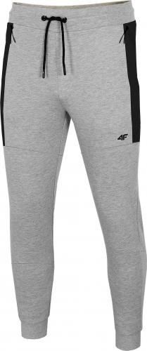 4f Spodnie męskie H4Z20-SPMD016 szare r. L