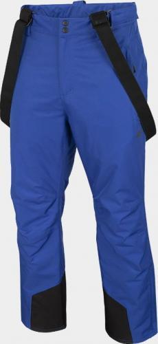 4f Spodnie męskie H4Z20-SPMN001 kobaltowe r. L