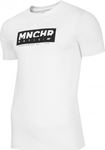 4f Koszulka męska H4Z20-TSM027 biała r. XXL