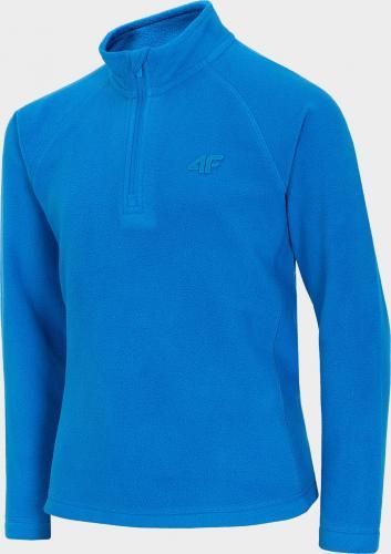 4f Bluza dziecięca HJZ20-JBIMP001 Kobalt r. 134/140