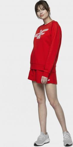 4f Bluza damska NOSH4-BLD001 czerwona r. S