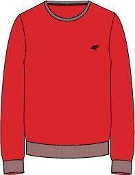 4f Bluza męska NOSH4-BLM001 czerwona r. M