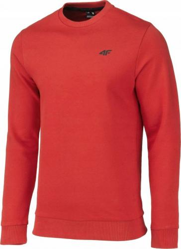 4f Bluza męska NOSH4-BLM001 czerwona r. L