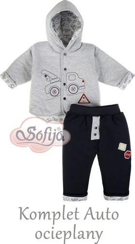 Sofija Komplet chłopięcy auto ociepalny r.62 Sofija