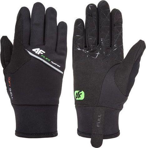 4f Rękawiczki zimowe dotykowe Softshell 4F REU003 XL