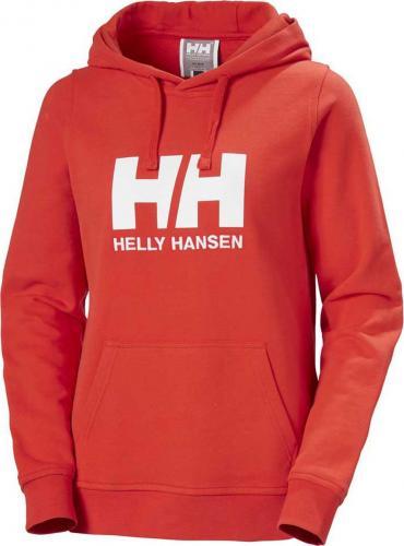 Helly Hansen Bluza damska W Logo Hoodie Alert Red r. S
