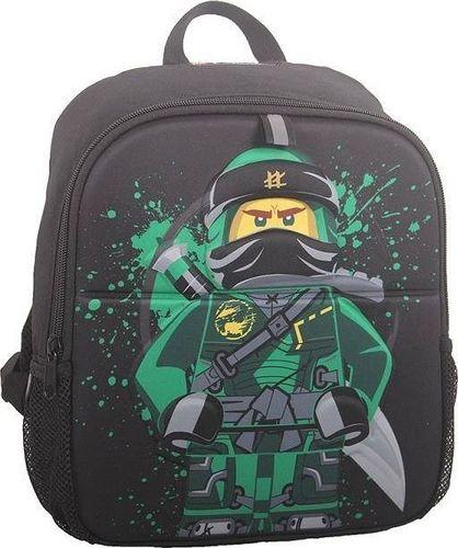LEGO Plecak dziecięcy LEGO Ninjago Lloyd 10101-06 Czarno Zielony uniwersalny
