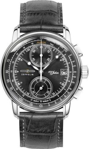 Zegarek Zeppelin Zegarek Zeppelin 100 Jahre 8670-2 Quarz Antracytowy uniwersalny