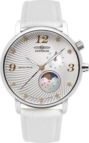 Zegarek Zeppelin Zegarek Zeppelin Luna 7637-1 Quarz Srebrny uniwersalny