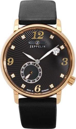 Zegarek Zeppelin Zegarek Zeppelin Luna 7633-2 Quarz Czarny uniwersalny