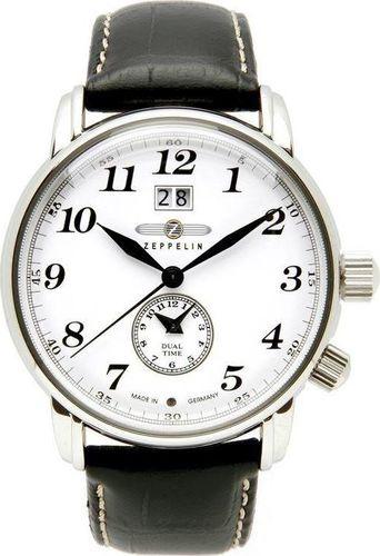 Zegarek Zeppelin Zegarek Zeppelin LZ127 7644-1 Quarz Biały uniwersalny