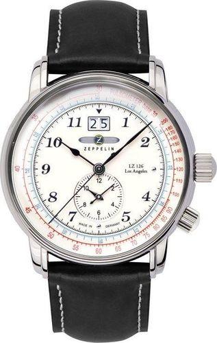 Zegarek Zeppelin Zegarek Zeppelin LZ126 Los Angeles 8644-1 Quarz Biały uniwersalny