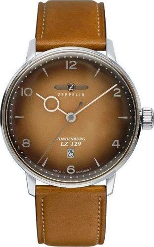 Zegarek Zeppelin Zegarek Zeppelin LZ129 Hindenburg 8046-4 Quartz Brązowy uniwersalny