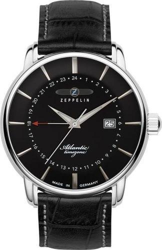 Zegarek Zeppelin Zegarek Zeppelin Atlantic 8442-2 Quartz Czarny uniwersalny
