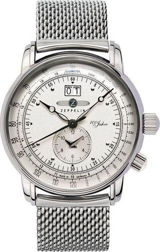 Zegarek Zeppelin Zegarek Zeppelin 100 Jahre 7640M-1 Quarz Srebrny uniwersalny